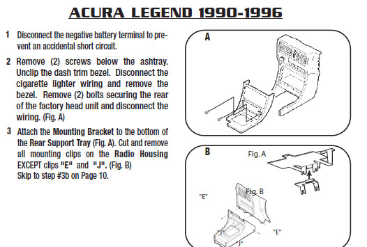 1991 acura legend installation parts, harness, wires, kits, bluetooth,  iphone, tools, 2dr 4dr s l ls wire diagrams stereo
