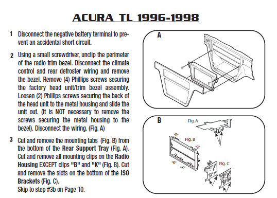 1996 acura tl installation parts, harness, wires, kits, bluetooth, iphone,  tools, 4dr sedan 2 5tl 3 2tl wire diagrams stereo