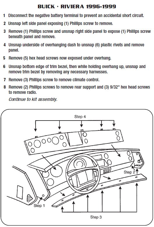 1996 buick riviera installation parts, harness, wires, kits, bluetooth,  iphone, tools, 2dr cpe wire diagrams stereo