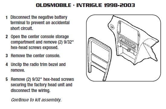 Outstanding 1998 Oldsmobile Intrigue Radio Wiring Diagram Wiring Diagram Wiring 101 Bdelwellnesstrialsorg