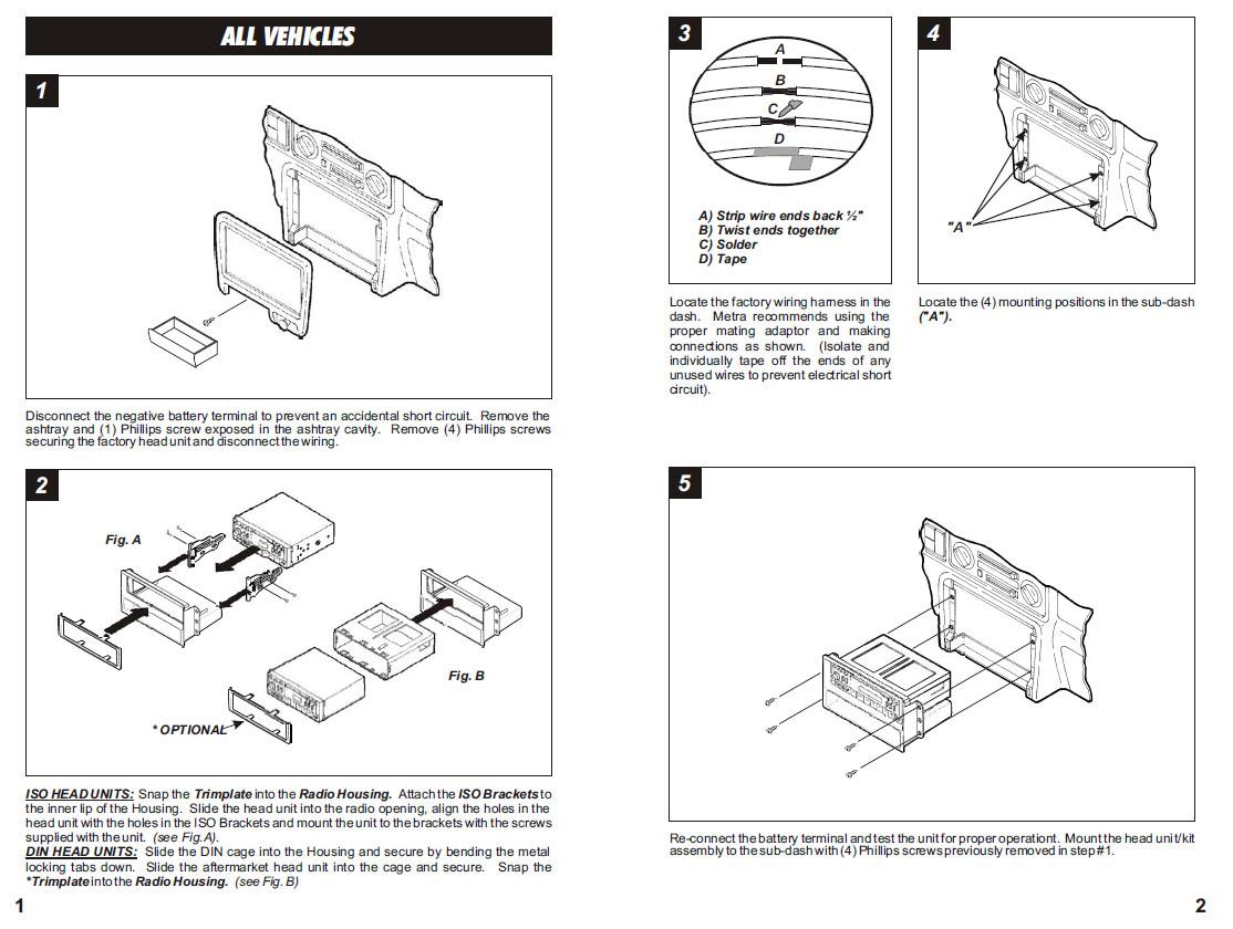 1999 Honda Passport Wiring Diagram Great Installation Of Element Parts Harness Wires Kits Rh Installer Com Radio