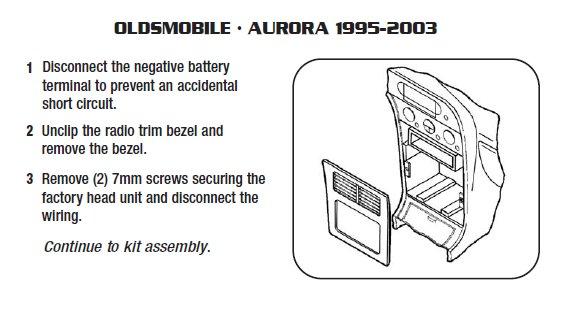 1999 Oldsmobile Aurora Installation Parts Harness Wires Kits Rhinstaller: 1998 Oldsmobile Aurora Wiring Diagram At Gmaili.net