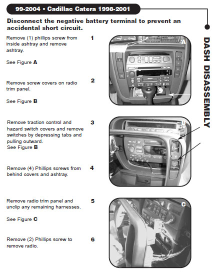 2001 cadillac catera installation parts, harness, wires, kits, bluetooth,  iphone, tools, wire diagrams stereo