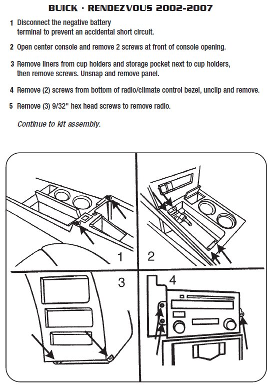 [CSDW_4250]   2002 Buick Rendezvous Installation Parts, harness, wires, kits, bluetooth,  iphone, tools, wire diagrams Stereo | Buick Rendezvous Radio Wiring Diagram |  | Car Installer Parts