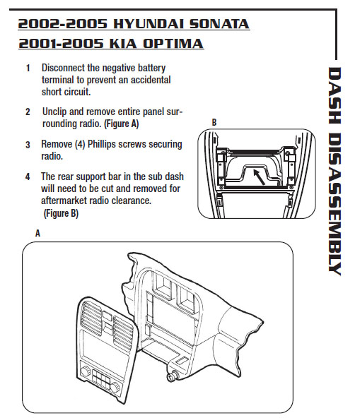 2002 KIA Optima Installation Parts Harness Wires Kits Bluetooth Iphone Tools Wire Diagrams Stereo: KIA Optima 2002 Wiring Diagram At Satuska.co