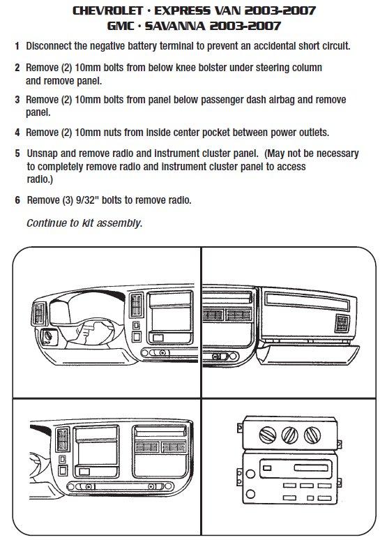 2003 gmc savana installation parts, harness, wires, kits, bluetooth2003 gmc savana installation