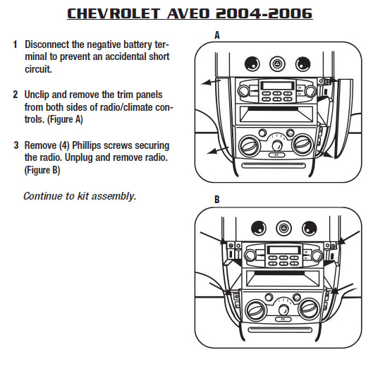 2004 chevrolet aveo installation parts, harness, wires, kits Chevrolet Aveo Radio Wiring