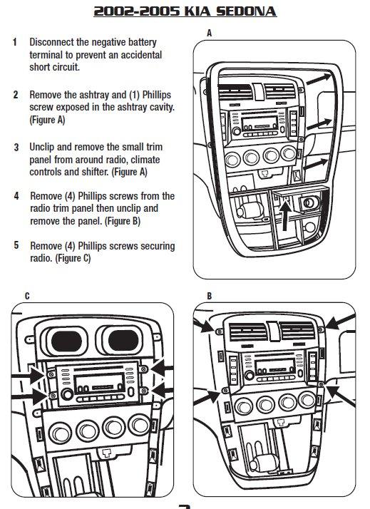 [SCHEMATICS_48YU]  2004 Kia Sedona Installation Parts, harness, wires, kits, bluetooth,  iphone, tools, wire diagrams Stereo | 2004 Kia Sedona Stereo Wiring |  | Car Installer Parts