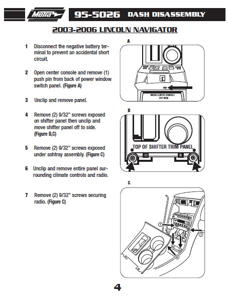 Lincoln Stereo Wiring Diagram