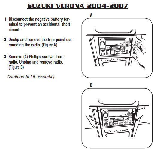 2004 suzuki verona installation parts, harness, wires, kits, bluetooth,  iphone, tools, 2004 wire diagrams stereo  car installer parts