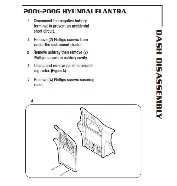 2006 hyundai elantra radio wiring diagram 2006 hyundai elantra installation parts  harness  wires  kits  2006 hyundai elantra installation parts