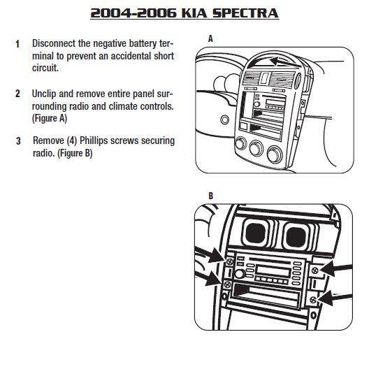 2006 kia spectra installation parts, harness, wires, kits, bluetooth 2006 Ford Taurus Wiring Diagram