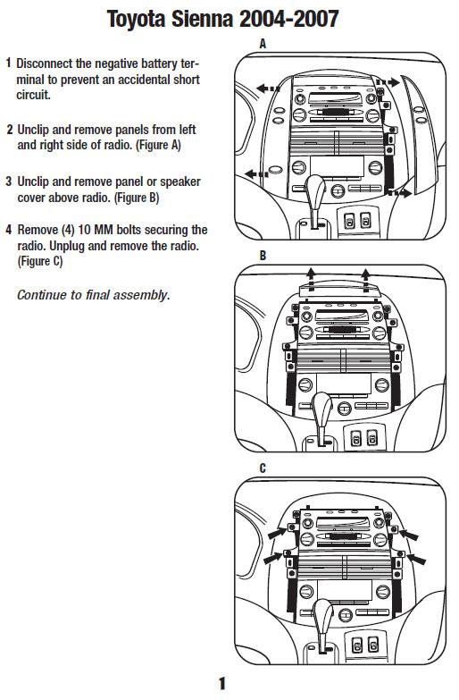 Toyota Sienna Wiring Wiring Diagram