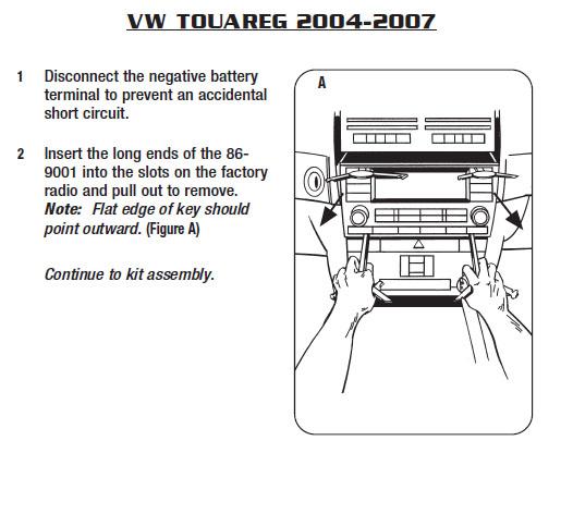 2006 volkswagen touareg installation parts harness wires kits rh installer com 2007 Volkswagen Touareg 2017 Volkswagen Touareg