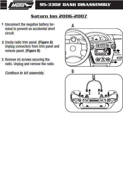 2007 saturn ion wiring diagram 2007 saturn ion installation parts  harness  wires  kits  2007 saturn ion installation parts