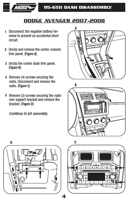 2008 dodge avenger stereo wire harness wiring diagrams schematic2008 dodge  avenger installation parts, harness,