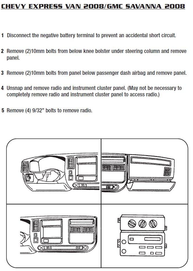 2008 Gmc Savana Installation Parts, harness, wires, kits, bluetooth Wiring Diagrams Gmc Savana Pro Package on gmc sierra wiring diagram, gmc savana parts diagram, gmc 3500 wiring diagram, gmc savana spark plugs diagram, 2007 gmc radio wiring diagram, gmc truck wiring diagram, gmc trailer wiring color code, gmc jimmy wiring diagram, gmc van wiring diagram, gmc savana brochure, gmc c7500 wiring diagram, gmc savana radio wiring, gmc savana chassis, 2000 gmc radio wiring diagram, gmc savana ignition, gmc yukon xl wiring diagram, gmc savana fuse box diagram, 1999 gmc wiring diagram, gmc denali wiring diagram, 2011 gmc trailer wiring diagram,