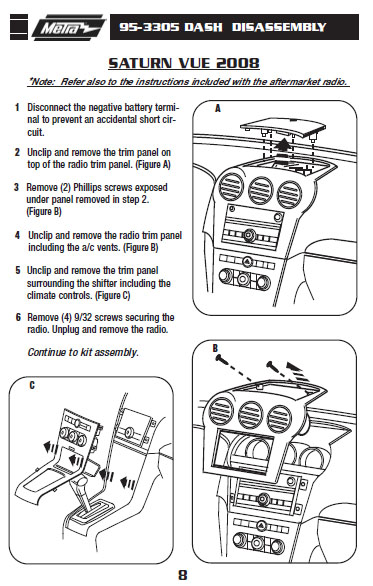 [SCHEMATICS_44OR]  Saturn Vue Stereo Wiring - F6 wiring diagram | 2007 Saturn Ion Radio Wire Diagram |  | telephonie-dentreprise-var.fr