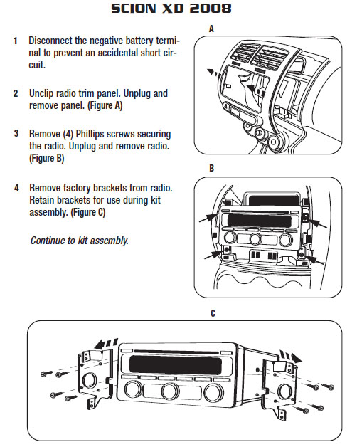 2008 scion xd installation parts, harness, wires, kits, bluetooth, iphone,  tools, wire diagrams stereo