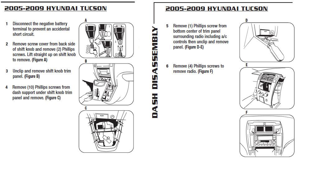 2005 Hyundai Tucson Radio Wiring Diagram