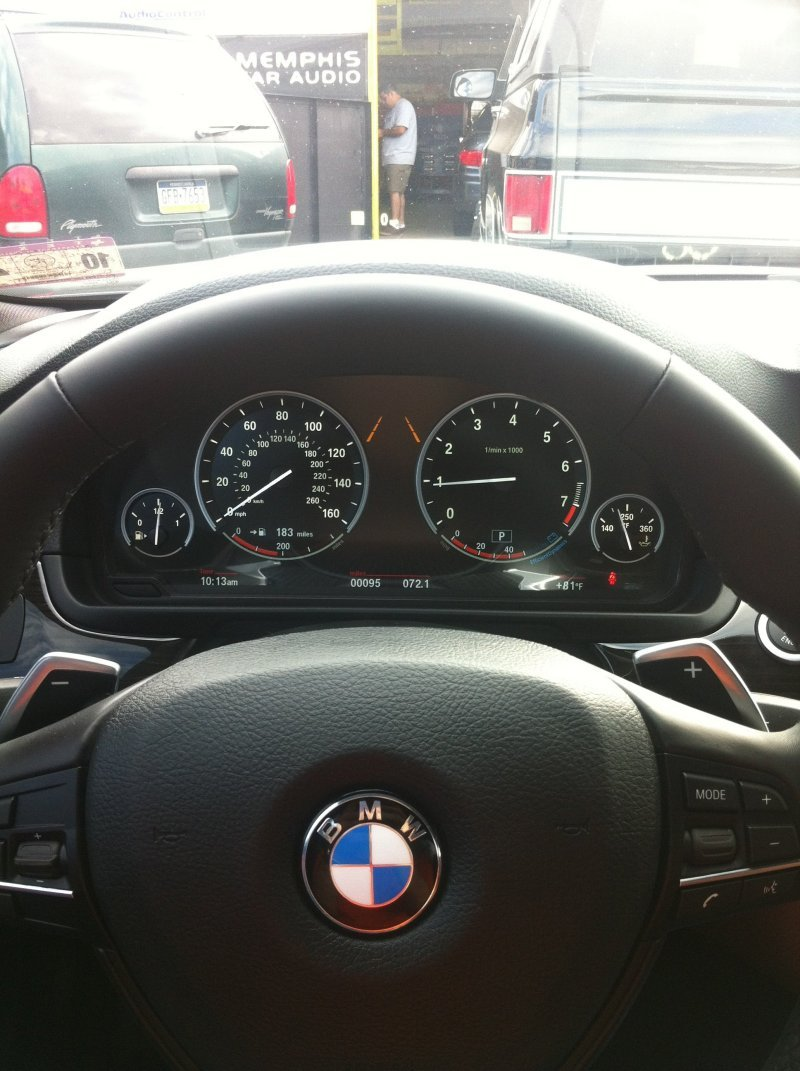 River Oaks Car Stereo Installation Photo 2013 Bmw 5 Series