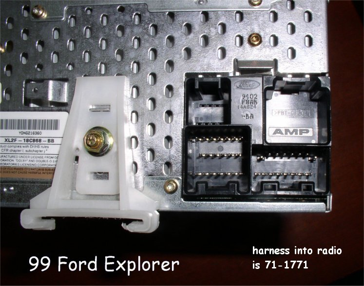 1996 Ford Explorer Radio Wiring Diagram : Ford explorer radio wiring harness diagram trusted wiring diagram