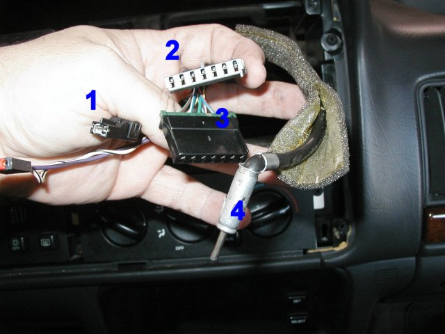 how to install a stereo in a 1996 jeep grand cherokee tutorial rh installer com 96 jeep grand cherokee stereo wiring diagram infinity 96 jeep grand cherokee radio wiring diagram