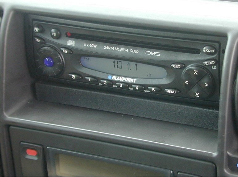 Service manual 1998 Land Rover Range Rover Radio
