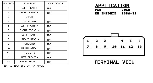 2006 gmc radio wiring diagram 2006 wiring diagrams