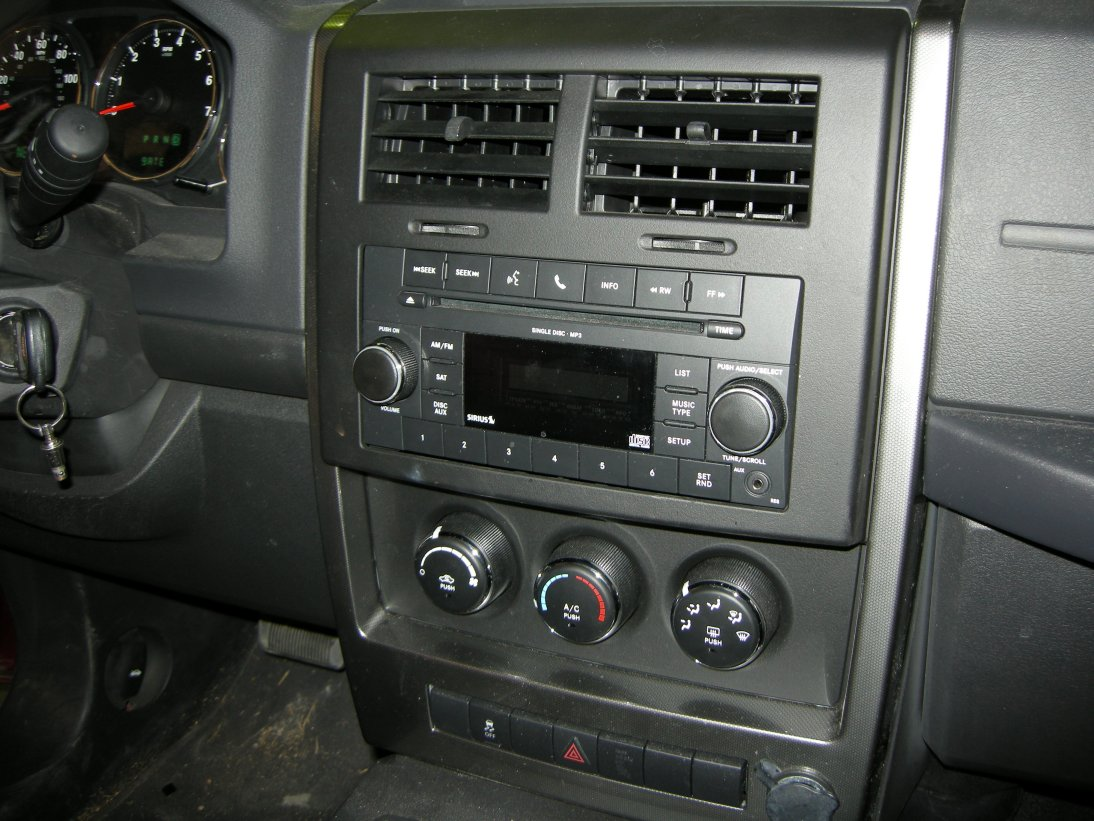 Jeep Liberty Dash