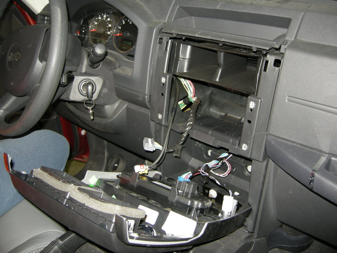 Jeep Liberty Dash with