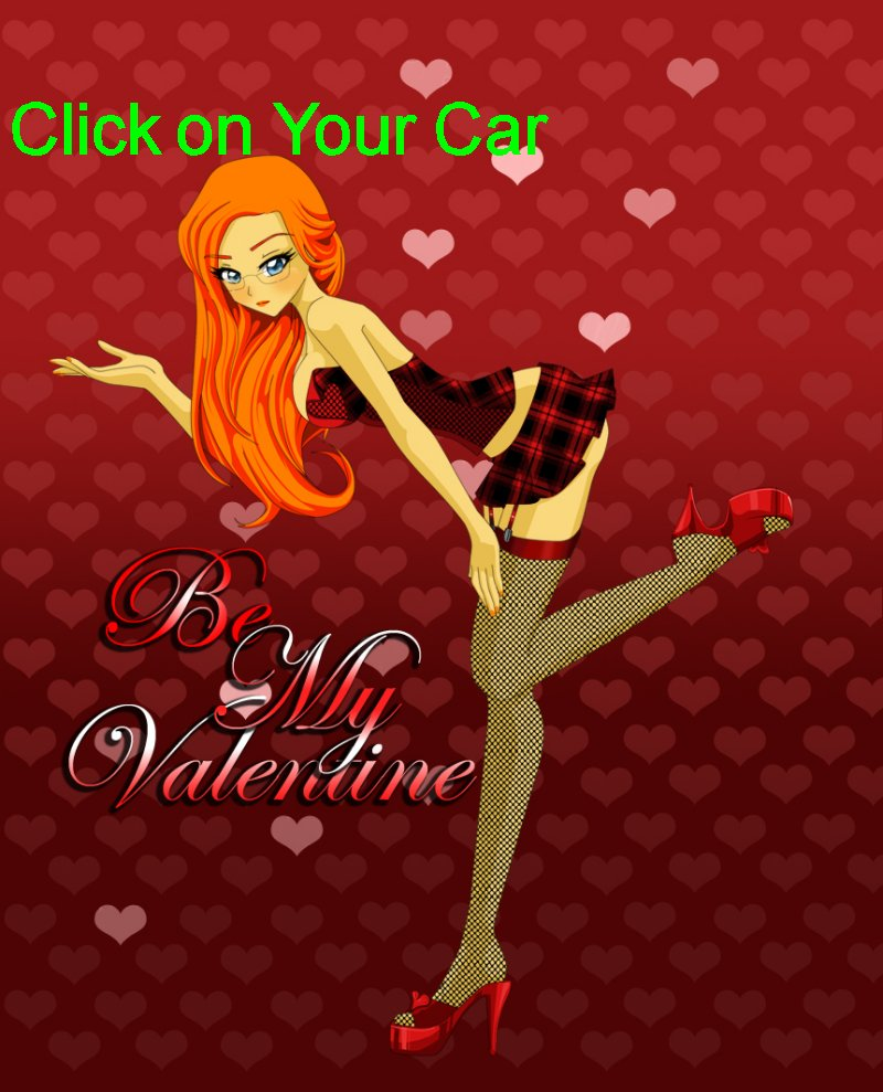 Ellie says click on your car to find the parts you need - Please be my Valentine