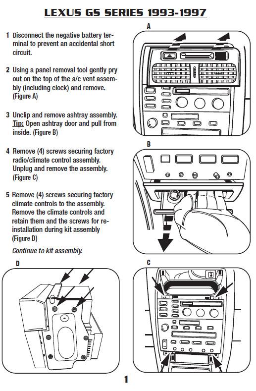 1996 lexus gs300installation instructions Lexus SC400 Wiring Diagrams