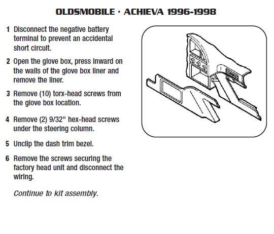 1997 oldsmobile achieva wiring diagram 1997 oldsmobile achieva fuse box diagram .1997-oldsmobile-achievainstallation instructions.
