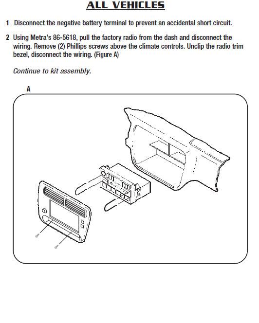 1998   MERCURY   MOUNTAINEERinstallation instructions