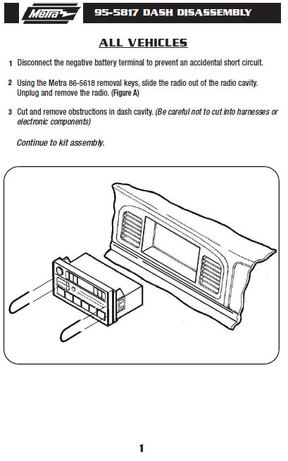 1999   FORD   CROWN VICTORIAinstallation instructions