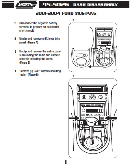 .2001-FORD-MUSTANGinstallation instructions.