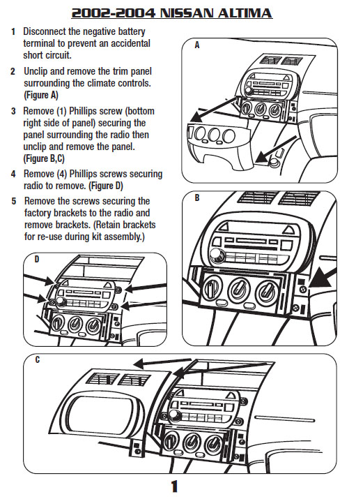 Nissan Altima Radio Wiring Harness : Altima dash wiring diagram get free image about