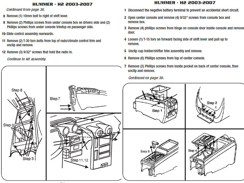 .2003-HUMMER-H2installation instructions.