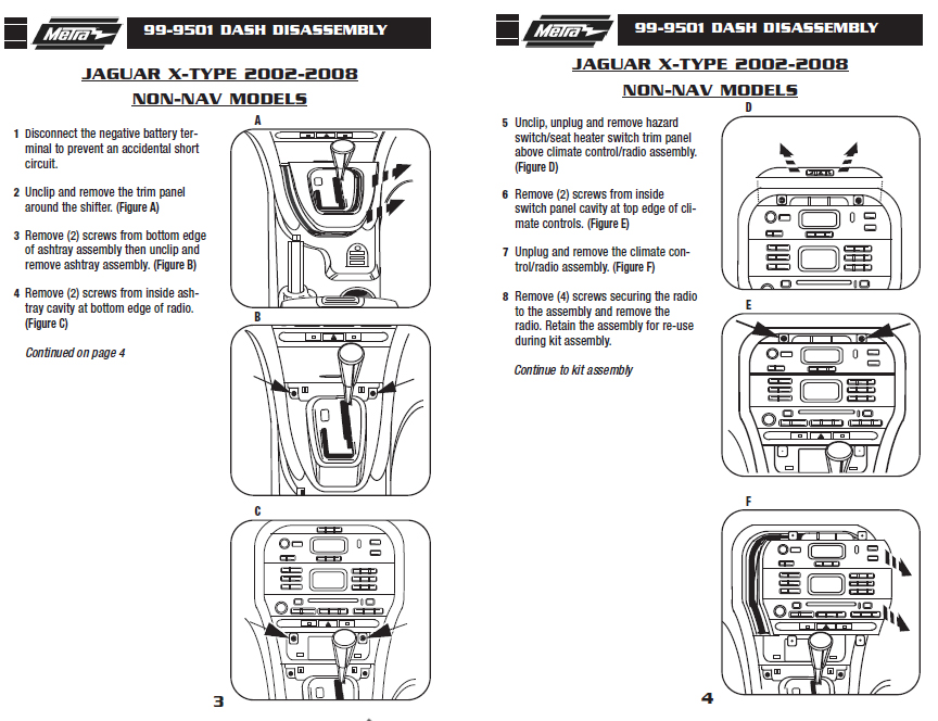 .2003-JAGUAR-X-TYPEinstallation instructions.