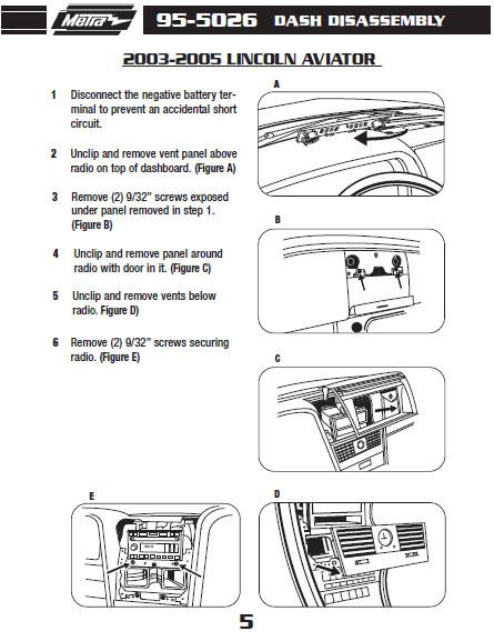 lincoln aviator radio wiring diagram .2003-lincoln-aviatorinstallation instructions. 2001 lincoln ls radio wiring diagram #10