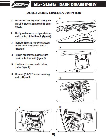 parrot bluetooth installation instructions