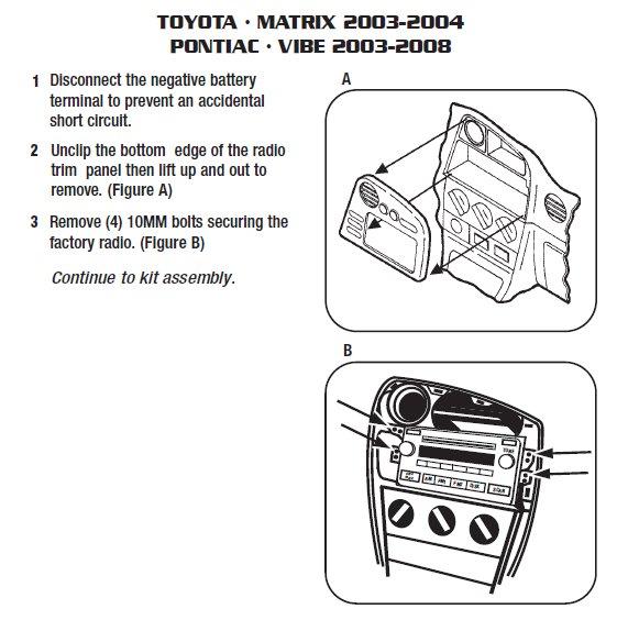 2003 Toyota Matrix Radio Wiring Diagram from www.installer.com