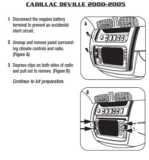 .2005-cadillac-devilleinstallation instructions. 2001 cadillac deville radio wiring diagram 2005 cadillac deville radio wiring diagram #5