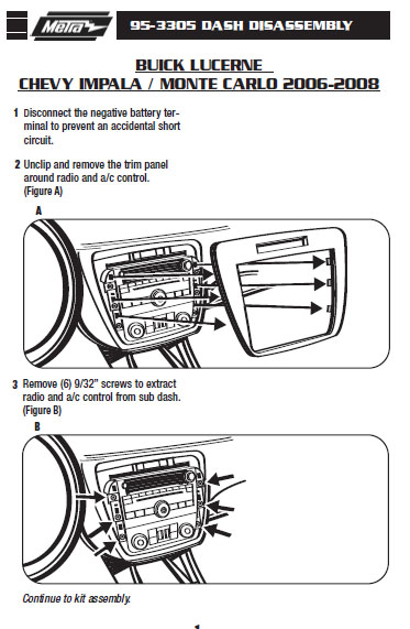 .2006-BUICK-LUCERNEinstallation instructions.
