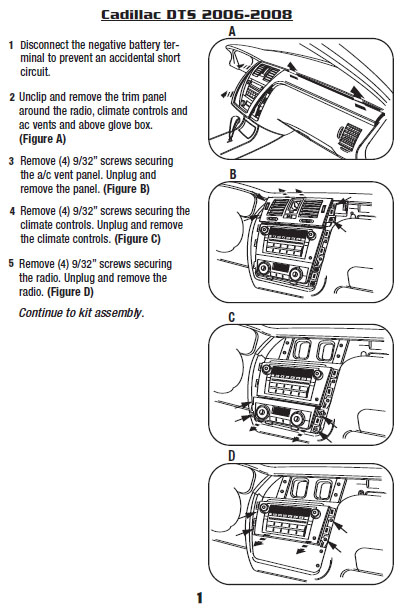 .2006-CADILLAC-DTSinstallation instructions.