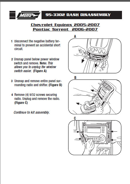 Chevrolet Equinox on Metra Wiring Harness Diagram