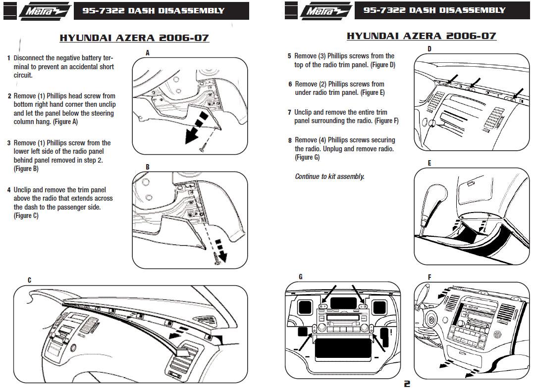 2006 hyundai azerainstallation instructions 2006 Hyundai Azera Interior Custom 2006 Hyundai Azera