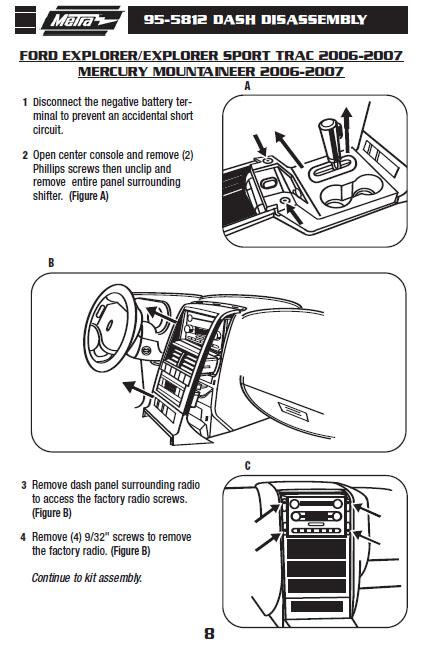 2007 Ford Explorer Radio Wiring Diagram, Ford Explorer Radio Wiring Diagram