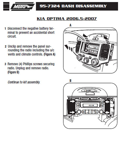 2007 kia optima radio diagram 2007 kia optima fuse box